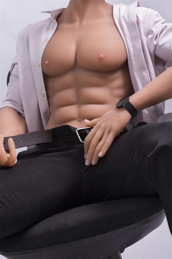 poupee sexuelle silicone homme steve 13